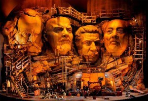 Not quite Mount Rushmore... the Ring cycle in Bayreuth