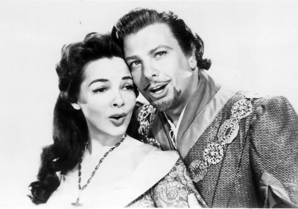 Kathryn Grayson & Oreste in The Vagabond King